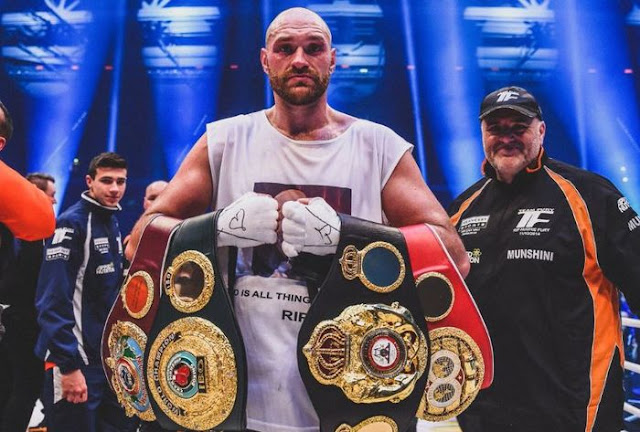 Tyson Fury Gives Message to Andy Ruiz Jr: Just Give Up the Champion Title