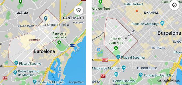 Eixample e Nova Esquerra de l'Eixample, Barcelona