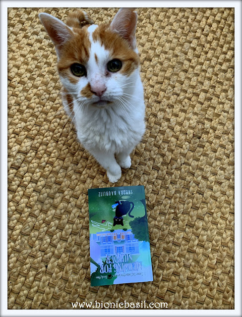 Book Reviews with Amber #160  ©BionicBasil® Meowing for Murder - Amber's Purrsonal Copy
