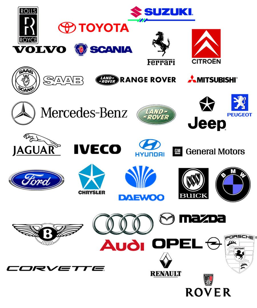 19+ Best Car Logo Designs - PSD