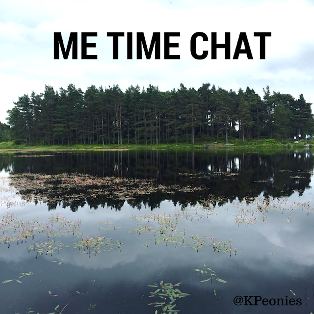 Me Time Chat Kaleidoscope Peonies