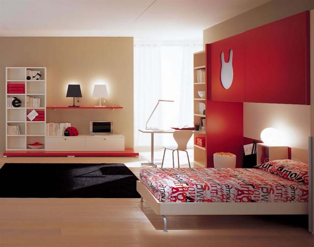 Các gam màu nên có sự liên kết với nhau trong phòng ngủ.