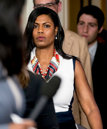 omarosa walked out of white house cursing