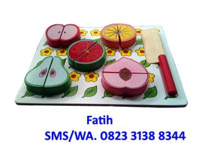 mainan buah potong