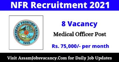 NFR General Duty Medical Officer Recruitment 2021