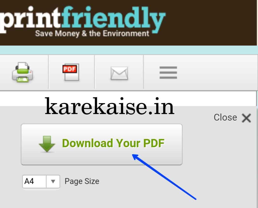 pdf converted post ko download kare
