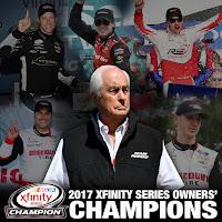 Roger Penske has 119 #NASCAR Wins