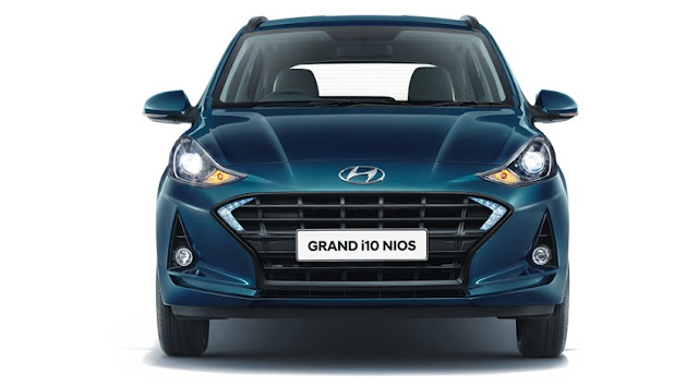 Grand i10 NIOS front portion