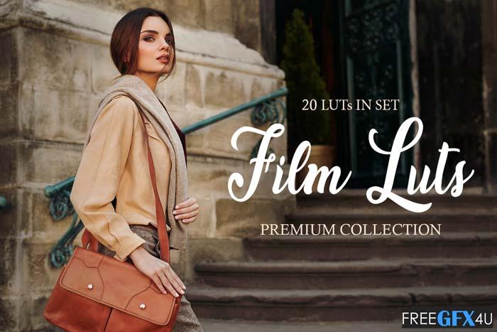 Film LUTs – fixthephoto