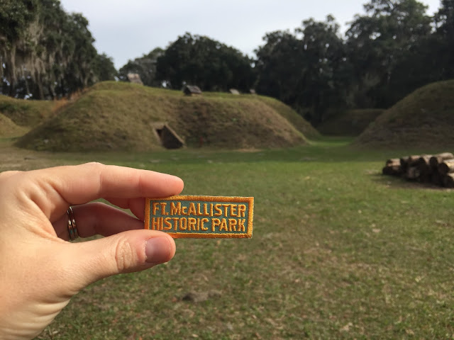 Camping at Fort McAllister State Park
