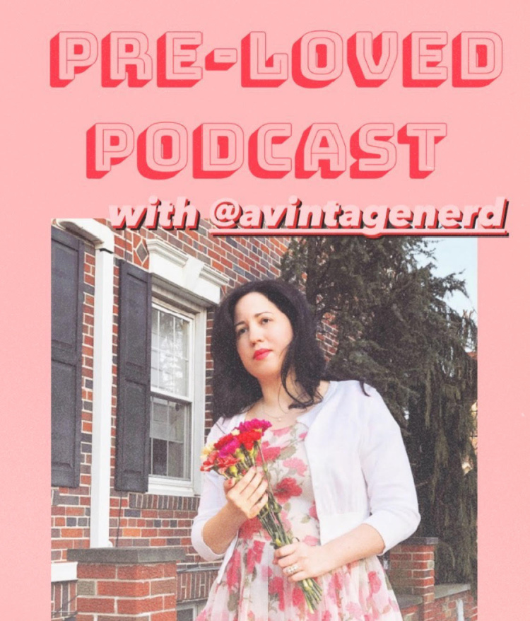 A Vintage Nerd, Pre-Loved Podcast, Vintage Podcast, Retro Lifestyle, Vintage Fashion Blog, Blogger Collaboration