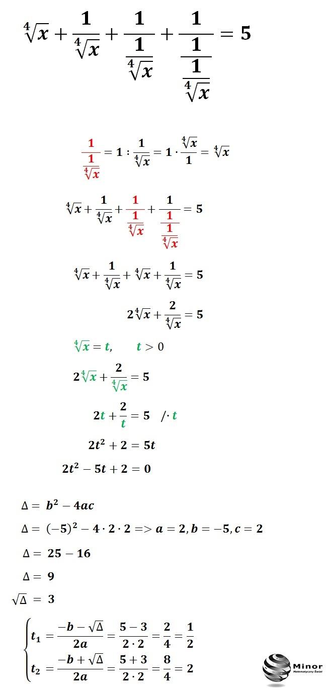 Równanie pierwiastkowe