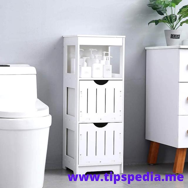 small skinny bathroom cabinet