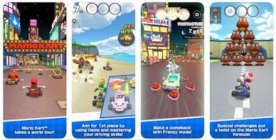 لعبة Nintendo جديد للهواتف الذكية Mario Kart Tour تحقق 20 مليون تحميلة