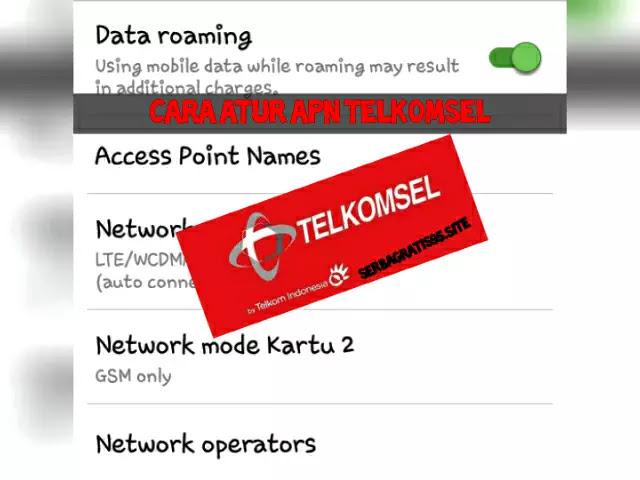 Setting APN Telkomsel Terbaru