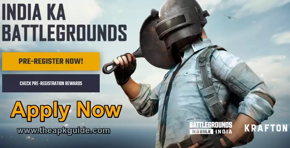 Complete Guide - How to Register for Battleground Mobile India Step By Step