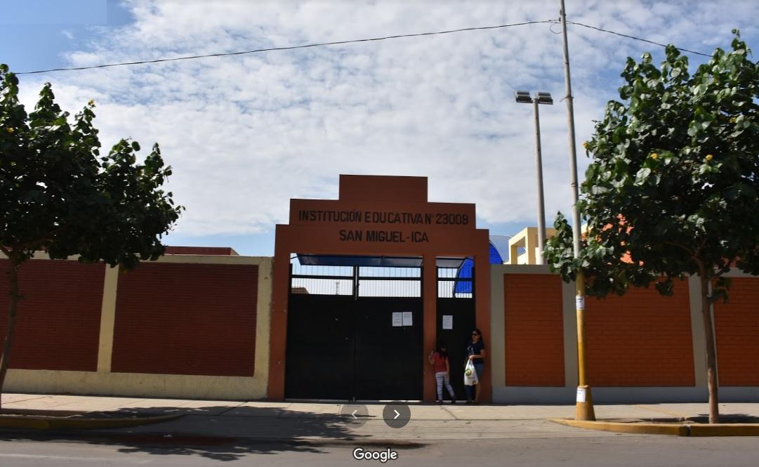 Escuela 23009 SAN MIGUEL - Ica
