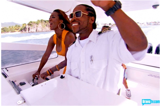 Kenya Moore Nfl Boyfriend
