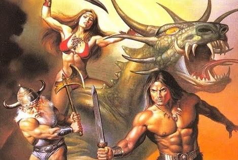 Golden Axe Myth Wallpaper