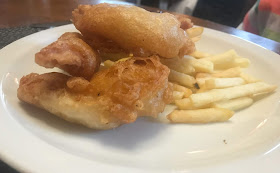 Chicken strip and fries kids meal at Linden Hall Dobson