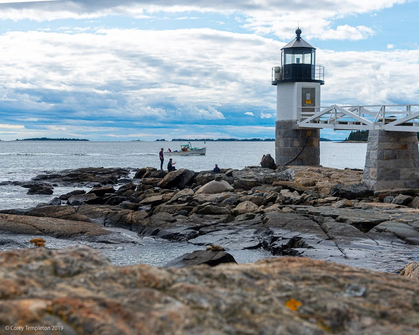Port Clyde, Maine USA September 2019 photo by Corey Templeton. Spent a few lovely days further up the coast. Here's a view of Marshall Point Light in Port Clyde.