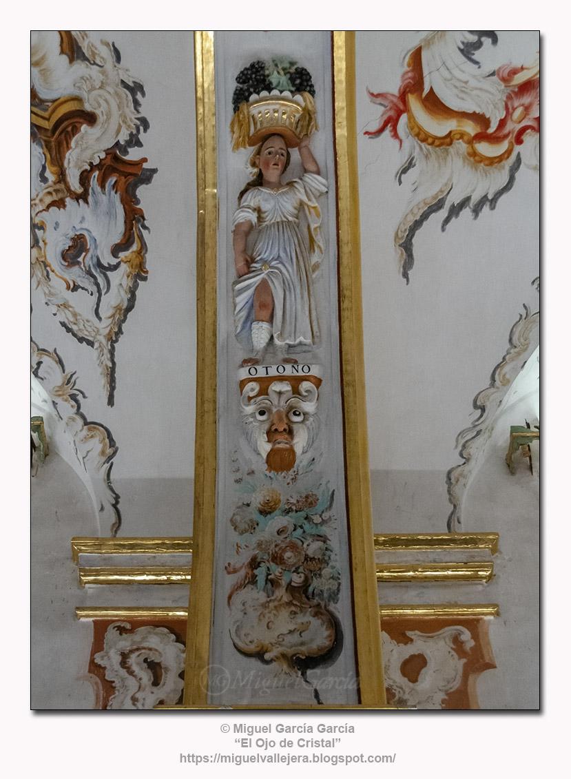 Alegoría del Otoño, Monasterio de Yuso, San Millán de la Cogolla (La Rioja)