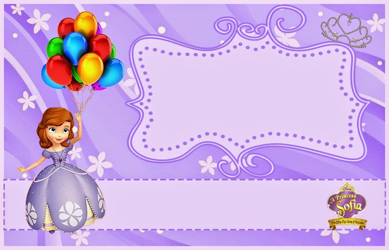 Wallpapers 3d Hello Kitty Gratis Sofia The First Free Printable Invitations Or Photo Frames
