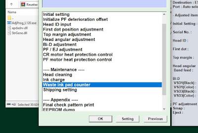 3 software reset printer epson L120