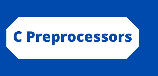 C Preprocessors
