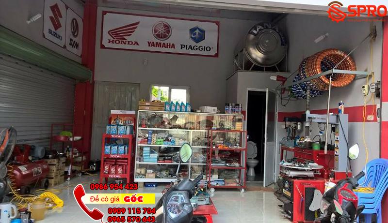 Mở tiệm sửa xe máy cần bao nhiêu vốn là đủ