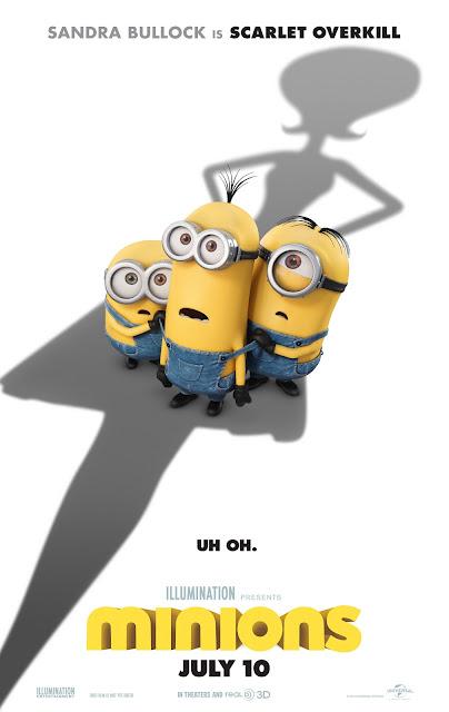 Variaciones de los carteles de la película Los Minions