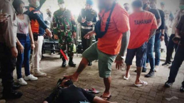 Anggota TNI Dikeroyok 2 Preman di Bitung hingga Kritis