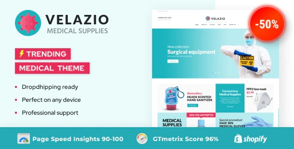 Medical Supplies Shopify Theme
