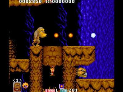 Toki in versione arcade