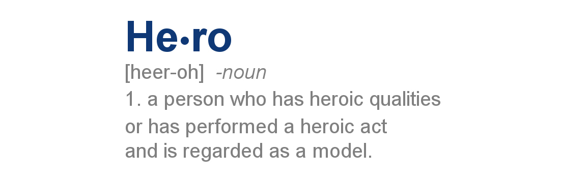 meaning involving hero
