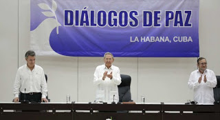 Raúl Castro:la paz será la victoria de toda Colombia y de toda nuestra América
