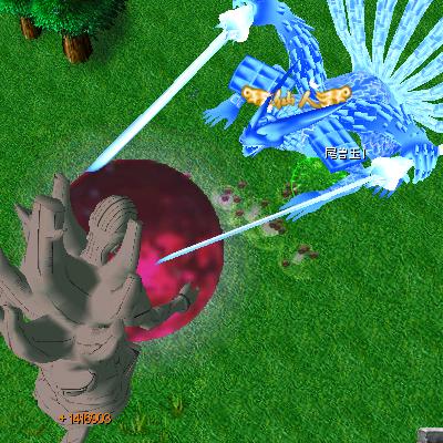 naruto castle defense 6.3 Madara Tailed Beast Bomb