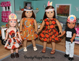 American Girl Thanksgiving printables