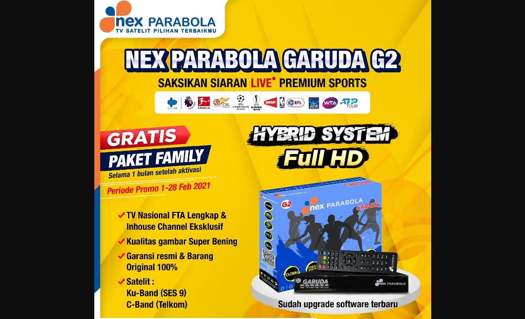 Receiver Nex Parabola Garuda G2