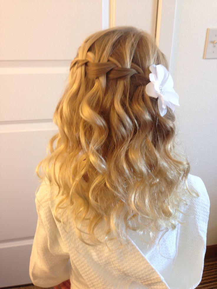 """De moda peinados comunion Fotos de estilo de color de pelo - Moda Cabellos: Peinados de primera comunión 2015 """"Fáciles ..."""