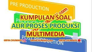 Di dalam pengembangan sistem dapat menggimakan model prototype. 40 Contoh Soal Pilihan Ganda Kk 2 Memahami Alir Proses Produksi Produk Multimedia Griyachumaidi Com