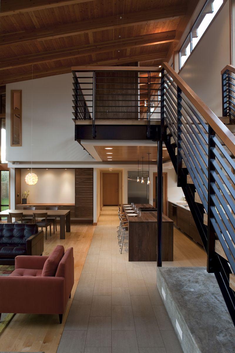 Hogares frescos decoracion interiores for Piano di costruzione in legno soppalco