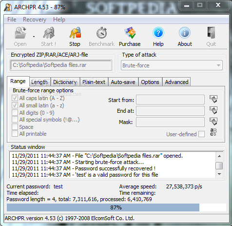PASSWORD ARCHIVE TÉLÉCHARGER 4.53 ADVANCED SERIAL RECOVERY
