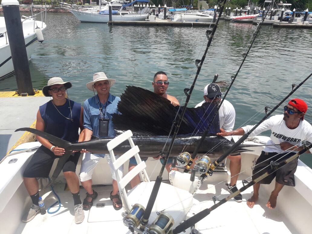 Pv sportfishing puerto vallarta fishing report august 2017 for Puerto vallarta fishing
