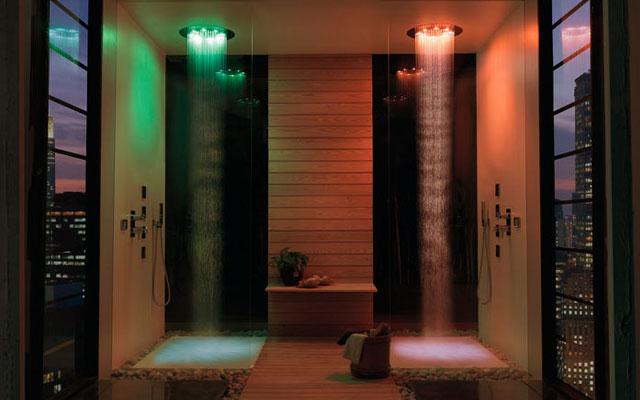 Modelos de duchas modernas decoraci n del hogar dise o de interiores c mo decorar design - Decoracion duchas ...