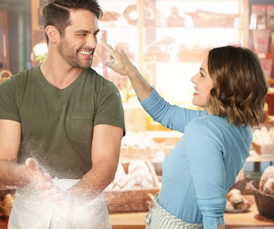 Eloise Mumford and Brant Daugherty in The Baker's Son