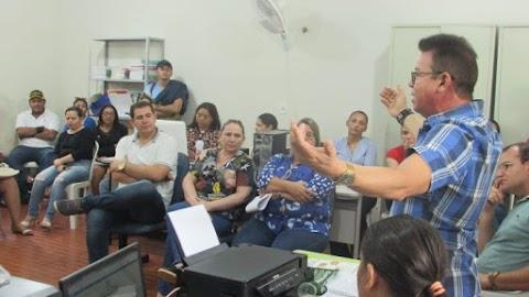 3º Arraiá do Gavião acontece dia 22 de junho; Secretaria de Cultura reúne secretários e servidores para organizar evento