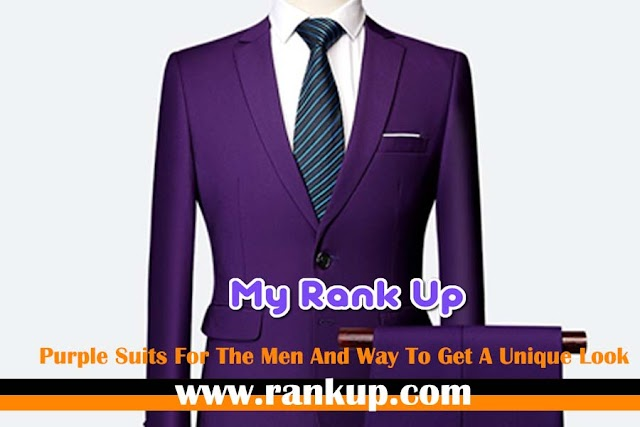 Purple Suits For The Men And Way To Get A Unique Look