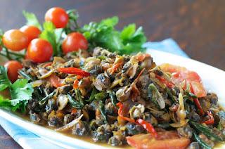 Resep Masakan Tumis toucu kerang