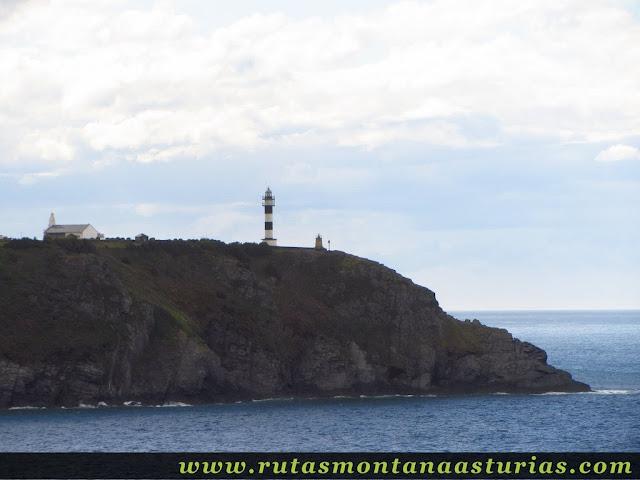 Cabo de San Agustín en Navia